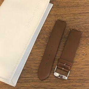 Philip Stein chocolate silk strap model 1-ICH